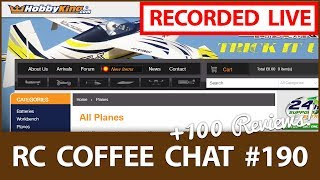 ALL HobbyKing RC Models, Reviewed - ☕ RC Coffee Chat #190 (Fixed Wing, Flying Wings etc...)