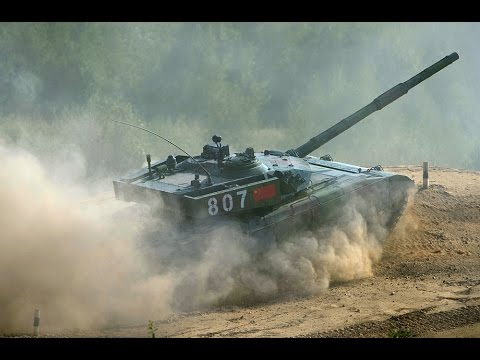 Tank Biathlon: Final round of World Championship 2014
