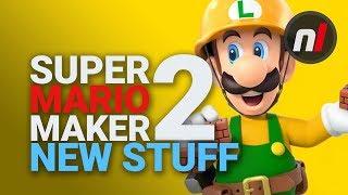NEW STUFF in Super Mario Maker 2 for Switch