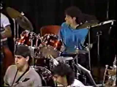 1987-88 New World School of the Arts Jazz Band performs One Man Band by Bob Mintzer