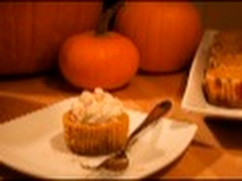 Pumpkin Cheesecake Cupcakes: Cupcake Show #12