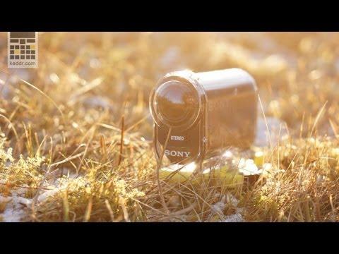 Sony Action Cam HDR-AS30V -- правильная экшн камера - обзор от keddr.com