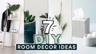 7 DIY EASY ROOM DECOR IDEAS! (Pinterest Inspired) // Lone Fox