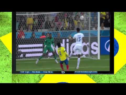 Football WC 2014  Honduras 1 2 Ecuador Group E Goals Highlights