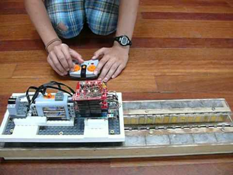 Diy Model Maglev With 3 Phase Linear Motor Youtube