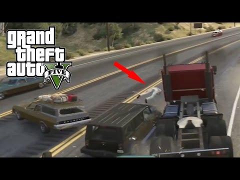 Best Car Crash Compilation #6 In Grand Theft Auto 5 (GTA V)