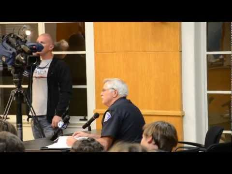 Police Chief tries to ban another hill from Downhill Skateboarding? City Council Mtg 2/28/12