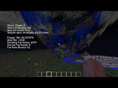 Game | Minecraft Tornado Mod Debug Menu | Minecraft Tornado Mod Debug Menu