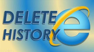 How to delete clear web search browsing history internet explorer