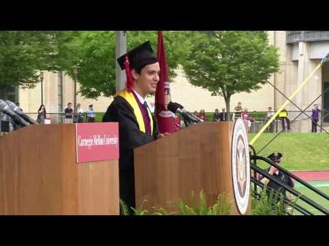 Student Speaker Brian Groudan (DC'12)