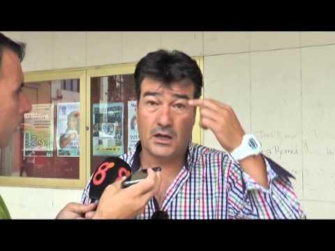 Rafael Escobar en previa Cartagena-Balona (31-10-14)