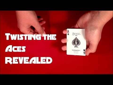 Twisting The Aces Card Trick
