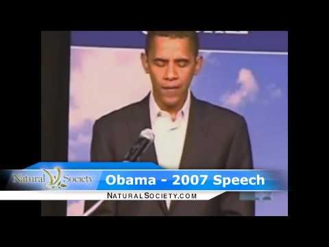Obama Promises 'Immediate' GMO Labeling in 2007, now slave to Monsatan!