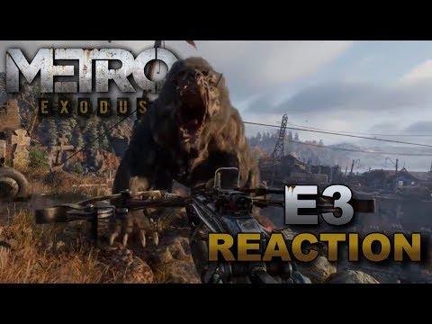 E3 2017 - Metro Exodus Live Reactions