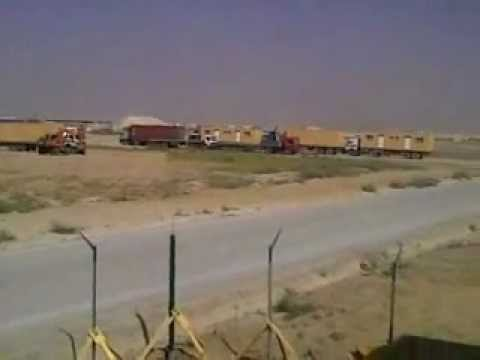 Exclusive unseen footage of US military base in Kandahar - Afghanistan