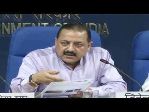 Press Conference by Dr. Jitendra Singh on initiatives taken by Department of Space