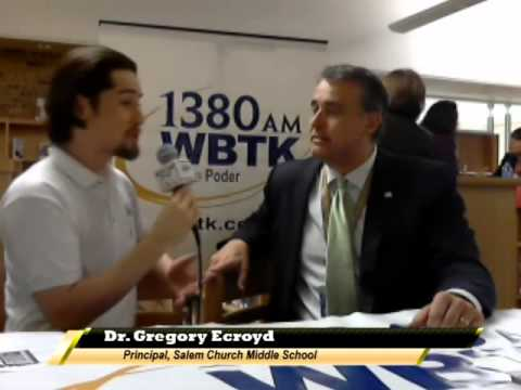 Interview with Dr Gregory Ecroyd-Salem Church Middle School