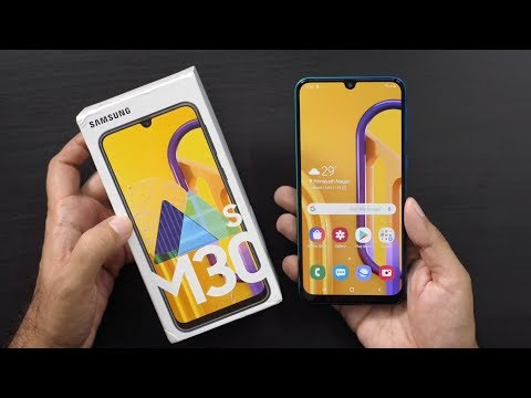 Samsung Galaxy M30s with 6000 mAh Unboxing amp Overview
