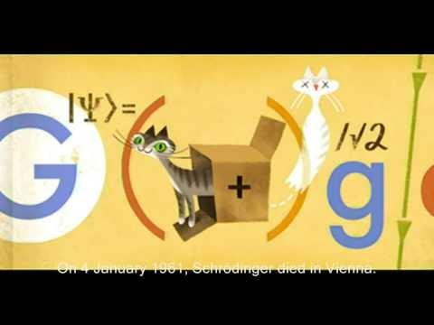 Erwin Schrödinger - Google Doodle
