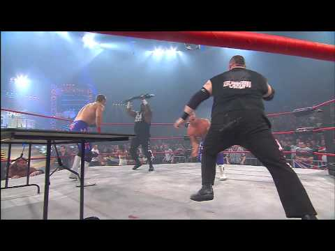 Bound For Glory 2009: Full Metal Mayhem Tag Team Match