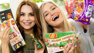 MASSIVE Jelly Bean Taste Test with Ro!