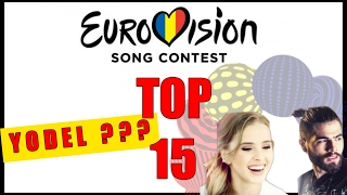 Eurovision 2017 ROMANIA: Top 15 Selectia Nationala with RATINGS