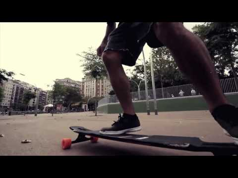 Barcelona Longboarding on the Original Freeride 41