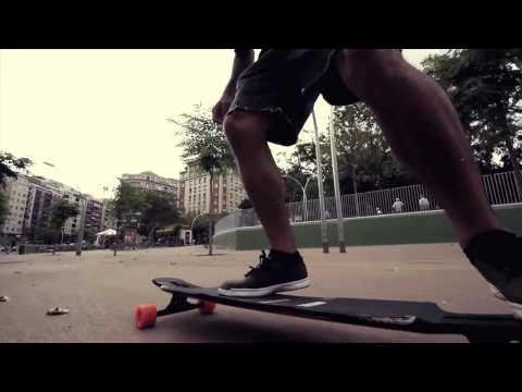 Barcelona Longboarding on the Original Freeride 41