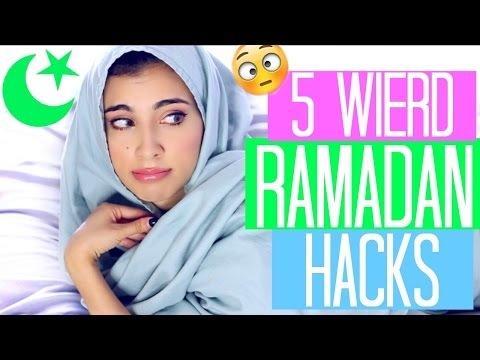 5 WEIRD Ramadan Hacks You Need to Try