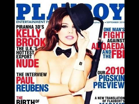 Cover of Playboy Magazine Inspired Makeup Tutorial - Twitter Request Video
