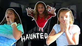 OUR CAR IS HAUNTED | SISTERFOREVERVLOGS #560