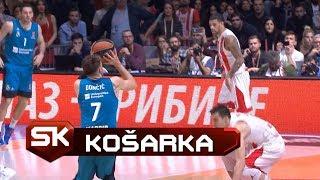 Trojka Dončića za Pobedu Crvena Zvezda - Real | Evroliga | SPORT KLUB Košarka