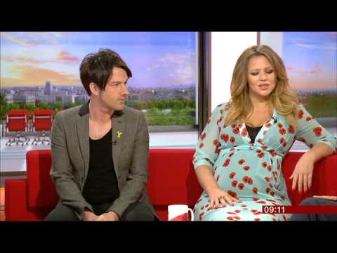Kimberley Walsh & Alistair Griffin - BBC Breakfast - 30th June 2014