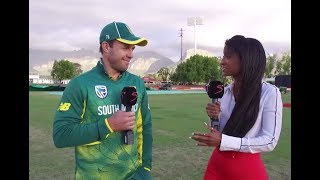 AB de Villiers post match interview - South Africa vs Bangladesh 2nd ODI