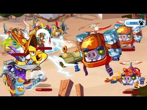 WELCOME RAIDING PARTY!! - Angry Birds Epic (Season 4) #1
