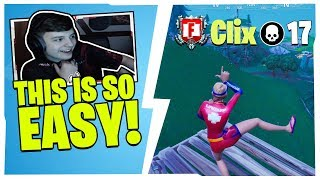 CLIX SHOWS CHAT WHY HIS CREATIVE WARRIOR SKILLS MAKE HIM THE BEST IN SOLO CASH CUP!