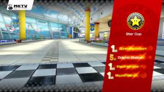 Mario Kart 8 Gameplay - Star Cup - Award Ceremony - 150cc