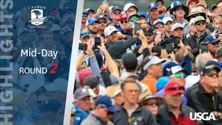 2019 U.S. Open: Mid-Day Highlights