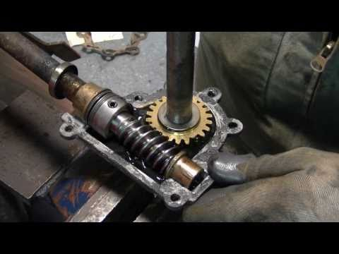 4HP Noma Snowblower Auger Gear Box Repair Part 1/3