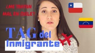 Me Tratan Mal En Chile  Tag Del Inmigrante