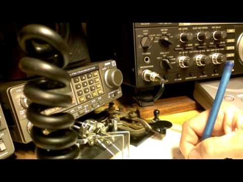 Icom 765 on CW