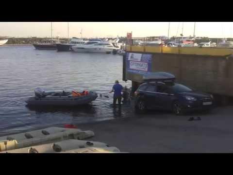 лодка трактор нива видео