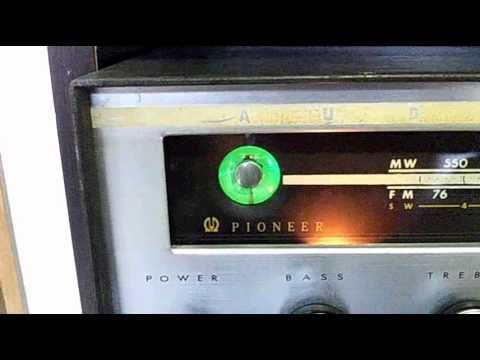 1960 pioneer FM-B101 3band Tube Receiver HiFi Amp