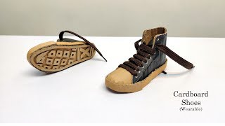 How to Make Cardboard Shoes - Easy Diy