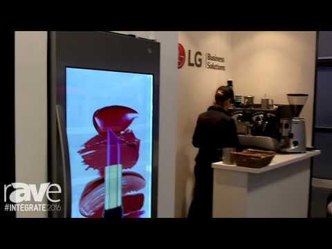 Integrate 2016: LG Demos Its Smart Hybrid Cooler