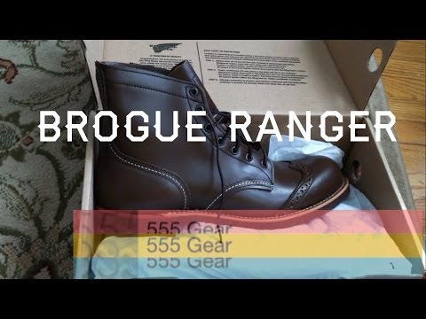 Review: Red Wing Brogue Ranger Heritage 6 inch boots USA