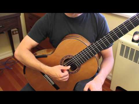 Lesson Guitar - Right Hand Open String Exercise