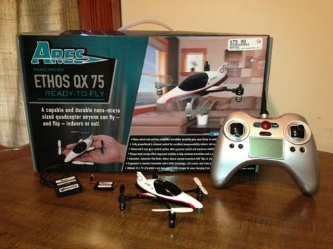 Ares Ethos QX 75 Quadcopter - Review and Maiden Flight