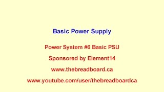 The Modular Bench Power System #6 Build A, the basics