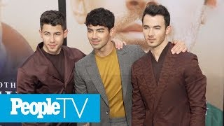 The Jonas Brothers Take Their Wives To The Premiere Of 'Chasing Happiness'   PeopleTV